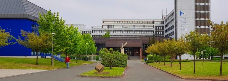 Западночешский университет в г. Пльзень