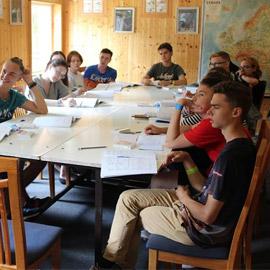 Урок чешского языка в летнем лагере